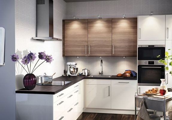 Как обустроить мини-кухню малометражной квартиры