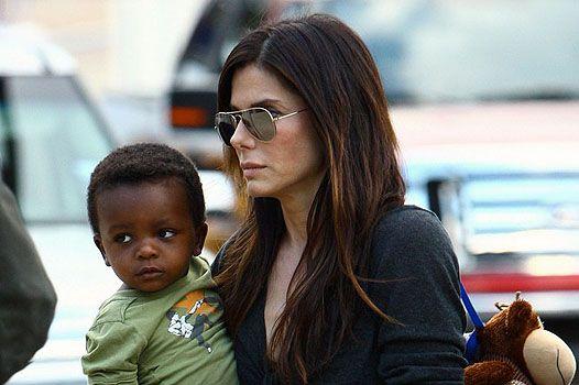 Звездные мамы, воспитывающих детей в одиночку