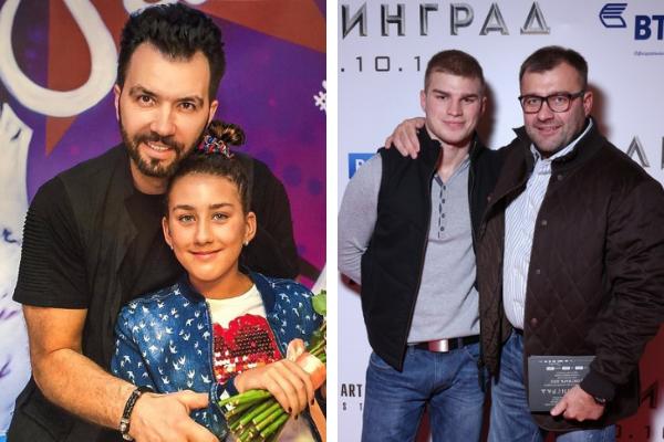 Внебрачные дети российских звездных мужчин