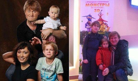 """Как выглядят жены и дети """"Уральских пельменей""""?"""