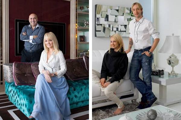 Российские знаменитости, у которых в домах королевская роскошь
