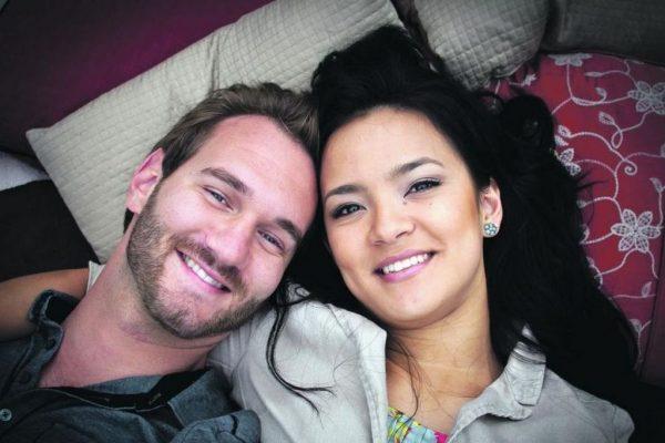 История любви Ника Вуйчича и его жены